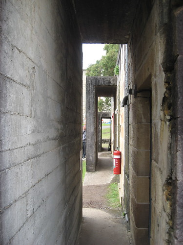 Air raid shelter entrances