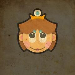 Todos Personagens de Mario Bros Cartoonizado Baby Daisy