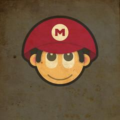Todos Personagens de Mario Bros Cartoonizado baby mario