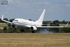 A6-AIN - 29268 - RoyalJet - Boeing 737-7Z5 BBJ - Luton - 100721 - Steven Gray - IMG_8870