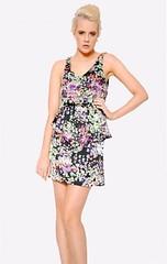 Printed dress Little Dancer Boutique Brisbane Threads