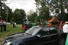 """Deutz und """"Safety Car"""" ;-) (sonjasfotos) Tags: man traktor oldtimer johndeere unimog ursus lanz trecker fordson hanomag schlepper deutz fendt eicher schlter oldtimertreffen gldner nienborg treckerfreunde"""