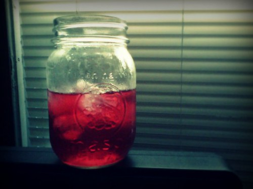 hibiscus and rose hip tea