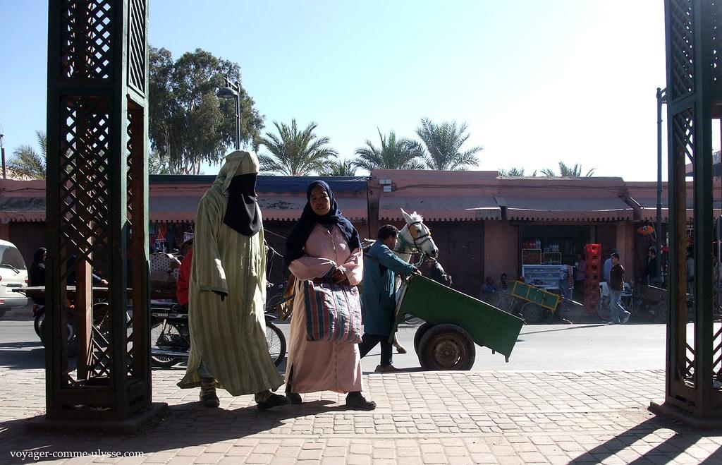 Femmes en hijab
