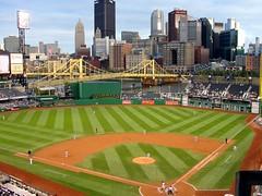 Pennsylvania ~ Pittsburgh North Shore (e r j k . a m e r j k a) Tags: bridge urban skyline pittsburgh cityscape pennsylvania pirates ballgame allegheny ballpark erjkprunczyk
