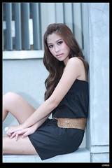 nEO_IMG_IMG_7870 (c0466art) Tags: show light portrait black girl beautiful big eyes long pretty legs outdoor good taiwan skirt figure 5d shooting lovely cloth charming activity pure  beautyshoots c0466art