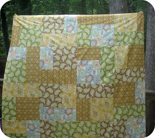 WIP 9 - Fresh Cut Turning Twenty Quilt