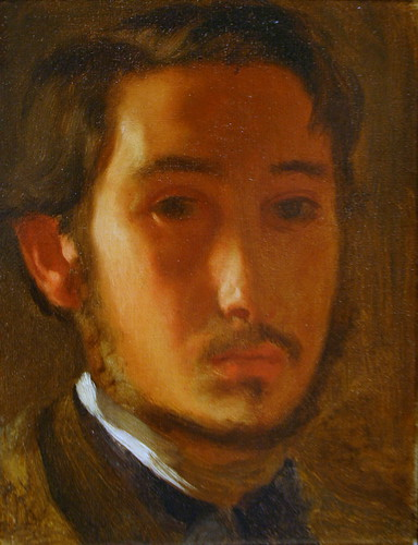 Self-Portrait with White Collar by Edgar Degas