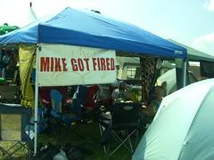 Mike Got Fired 2010 (Goob712) Tags: camping camp music philadelphia festival folk philly fest 2010 phila pff