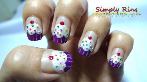 Nail Art Cupcakes 08