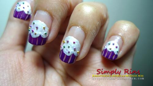 Nail Art Cupcakes 03
