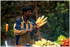 Sales Man !!! (Naseer Ommer) Tags: canon kerala salesman munnar cornseller naseerommer canoneos7d discoverplanetinternational