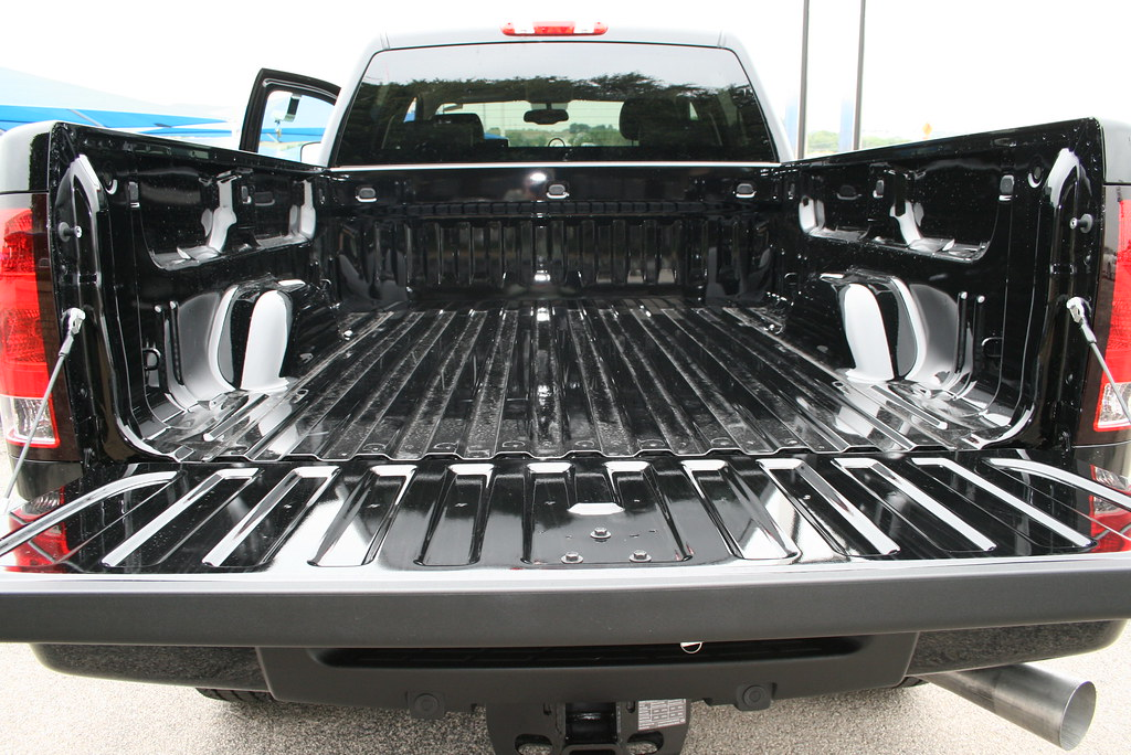 Smooth Bed in the All New 2011 GMC Sierra 2500HD Denali at James Wood Decatur and Denton