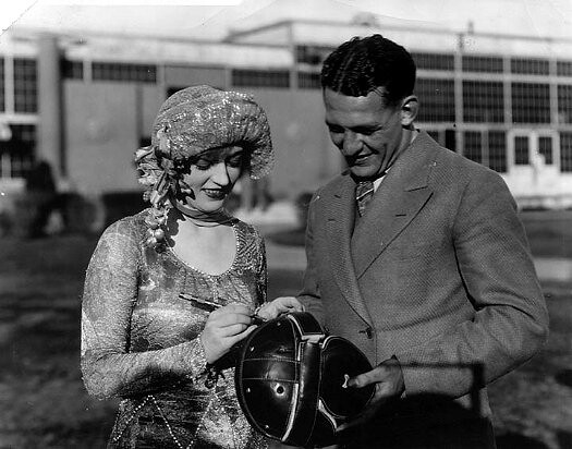 marion davies and red grange