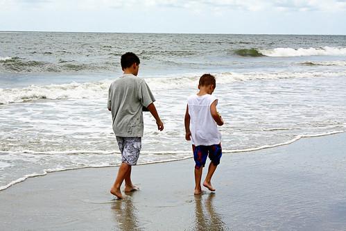 D7 Boys on beach 2