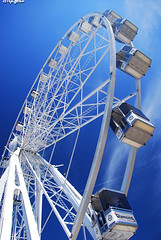 Wheel of fortune [Explored] (JdJ Photography (Aardewerk)) Tags: city sky cloud sun sunlight white holland wet water netherlands amsterdam river boats europa europe downtown afternoon centre ships nederland sunny nat boten diamond round sail ferriswheel innercity lucht wit mokum centrum zon province stad ij reuzenrad crowded noordholland druk zonlicht middag cabins diamant wolk lotsofpeople javaeiland rond benelux rivier schepen randstad zonnig binnenstad ijriver provincie northholland hokjes amsterdamcentrum veelmensen amsterdamcitycentre nautischevenement nauticevent eenselke5jaar onceevery5years