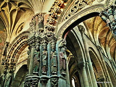 Orense catedral pórtico-2 (ferlomu) Tags: catedral ferlomu gótico orense galicia