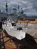 HMS Monitor (Megashorts) Tags: uk docks pen ship ships olympus hampshire historic panasonic m33 portsmouth 20mm aircraftcarrier naval olympuspen arkroyal drydock warship ep1 dockyard royalnavy hmsarkroyal f17 r07 hmsmonitor ppdcb4