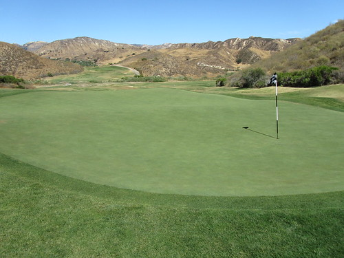 Eighth hole at Lost Canyons Golf - Simi Valley