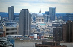 St Pauls and Temples of Mannon (brian.mickey) Tags: london touristlondon viewfrommillbanktower londonviewpoints