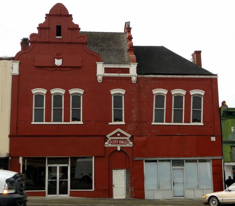 Talladega City Hall c.1896