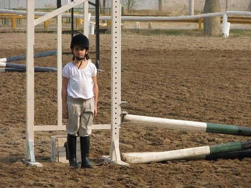 Campeonato interno de equitación