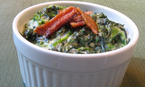 creamed spinach 016