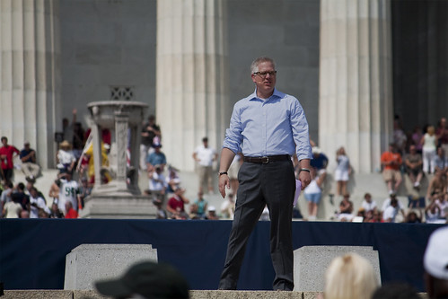 Glenn Beck at the 8/28 rally