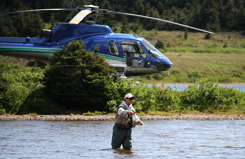 Heliskiing and Fly-Fishing at Bella Coola Heli Sports