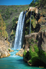 (Alberto Quiñones) Tags: méxico waterfall san luis cascada slp huasteca potosi tamul sanluispotosí