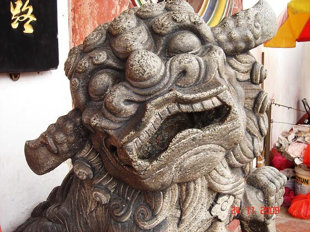 DSC01918 马六甲青云亭 门外石狮,Cheng Hoon Teng Temple,Malacca