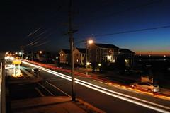 Avalon by night (Dalemears) Tags: night newjersey traffic avalon lighttrail d3000