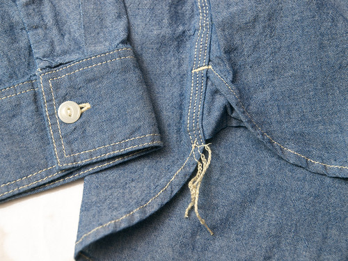 Five Brother / L/S Chambray Work Shirt