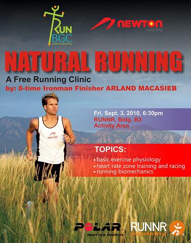 Nature Running poster