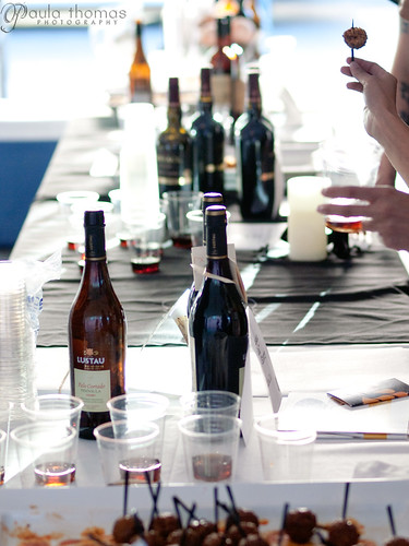 Sherry Tasting Table