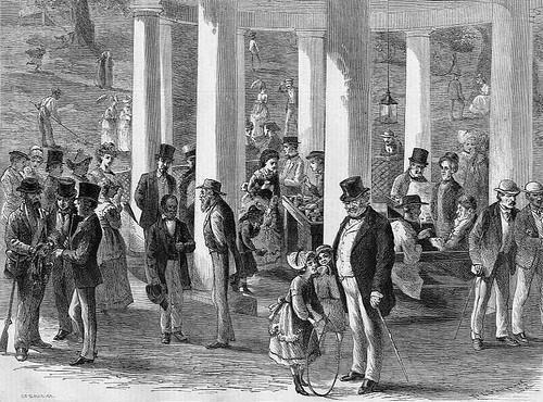 At White Sulphur Springs, 1870