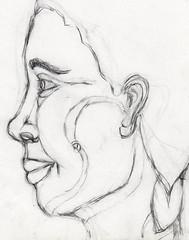 snake eye (Britt Pia) Tags: portrait art pencil sketch artwork drawing profile bpp pencildrawing brittmckenzie
