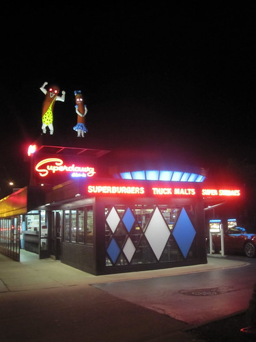 Superdawg, one of the last original drive-ins in America. Since 1948.