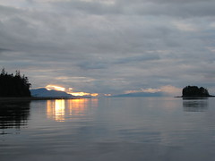 Sunset Frederick Sound