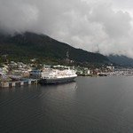 AMHS ferry [Alaskan Marine Highway System] Ketchikan strait thumbnail