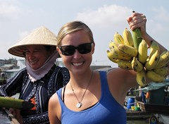 Floating Market on Mekong River - What A Swell Purchase