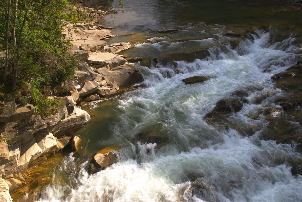 Wasserfall Probij