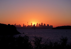 Sunset Tower (Padmacara) Tags: sunset sydney australia g11