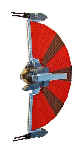 Asajj Ventress' Ginivex Fanblade Starfighter