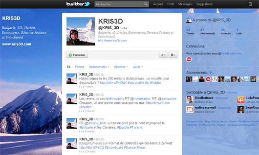 Profile Twitter
