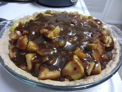 My Vegan Caramel Apple Pie, Take 3