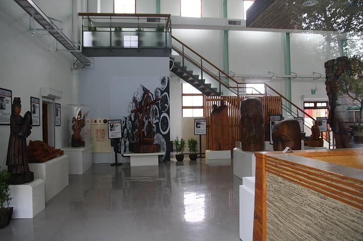 嘉義動力室木雕作品展示館014