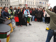 Le BerimBabe nel cuore della manifestazione