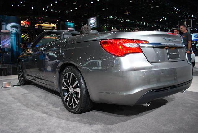 auto show chicago model 200 chrysler 2012 2011 d3000