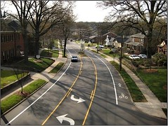 East Blvd, Charlotte (courtesy of Complete Streets Coalition)